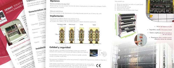 Identidad corporativa - Maquetación de catalogos
